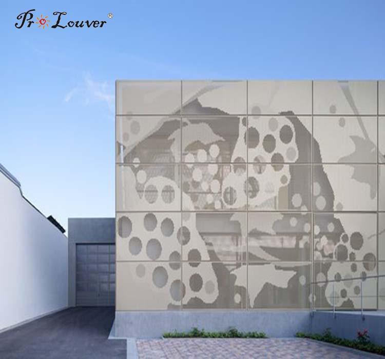Building Decoration PVDF Coating Perforated Aluminum Sheet Metal