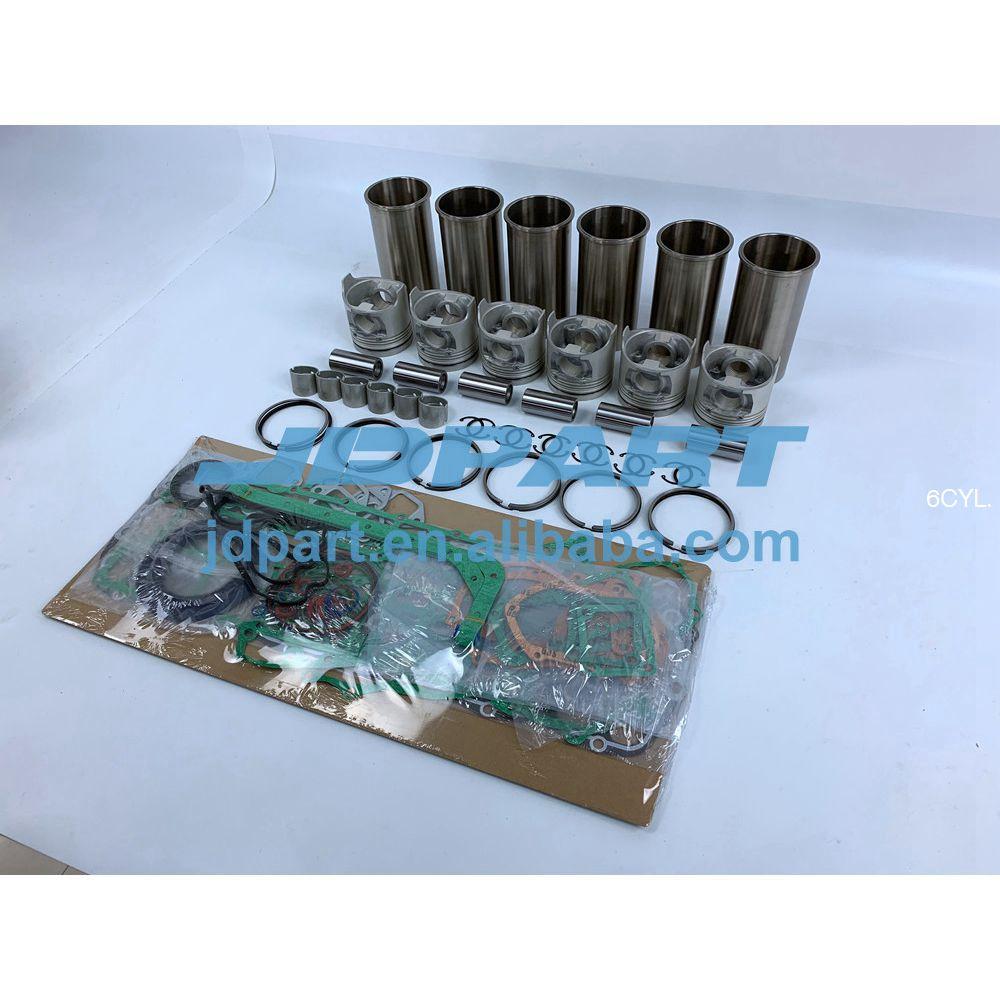 D1146 Engine Overhaul Kit With Cylinder Piston Rings Liner Cylinder Gasket Set For Doosan