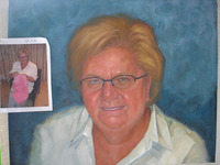Custom personal portrait painting Handmade Oil Painting from photo