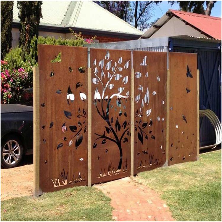 Corten Steel Garden Screen Art, Corten Steel Garden Screen Art Suppliers  And Manufacturers At Alibaba.com