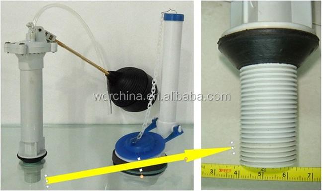 Wc tranquila flotador de pl stico bot n superior mecanismo for Valvula descarga inodoro