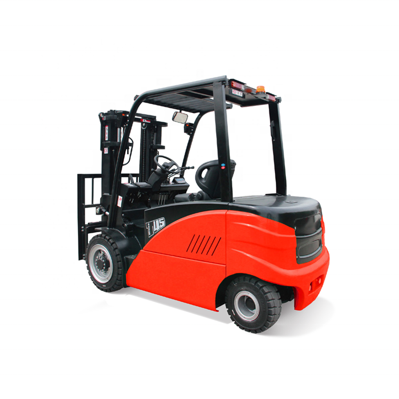 REDDOT 4-5ton four wheel electric battery forklift with Zapi Controller