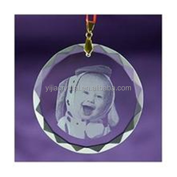 new style pendant drop crystal personalized tree christmas ornaments