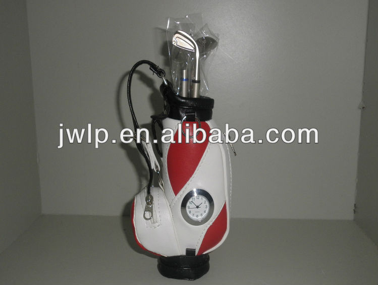mini golf bag with ball arm office furnituring golf pen container suit