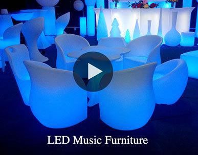 Garden Treasures Outdoor Furniture LED Light Up Outdoor Furniture