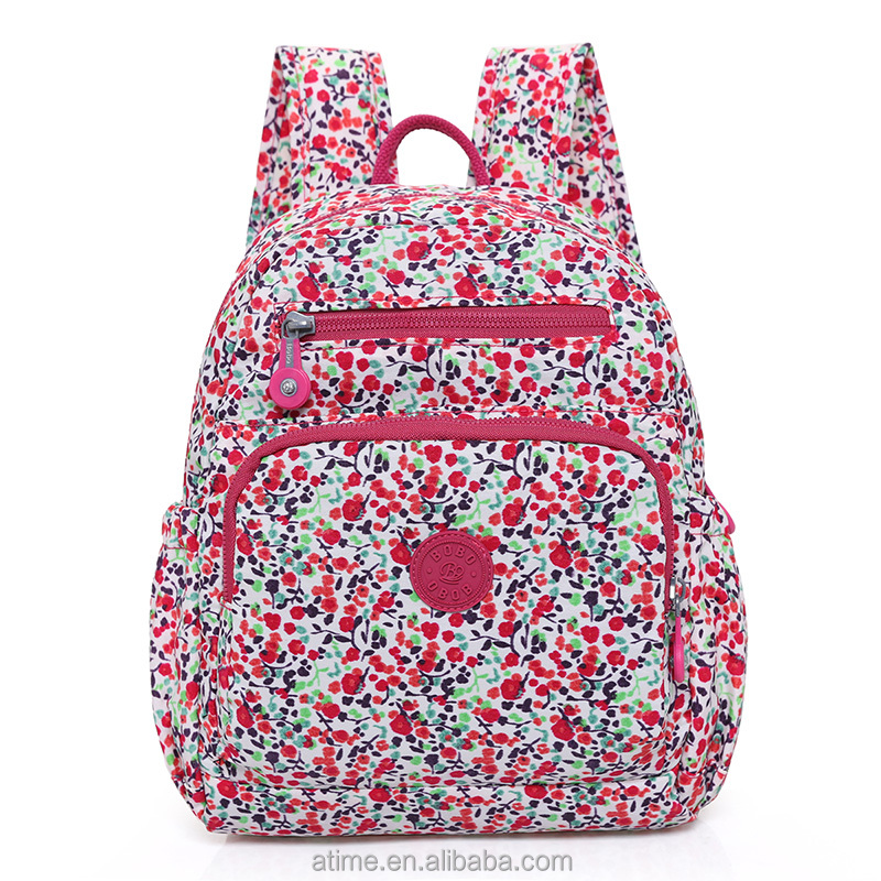 Backpack New Fashion Beautiful Floral Large Lady <strong>School</strong>