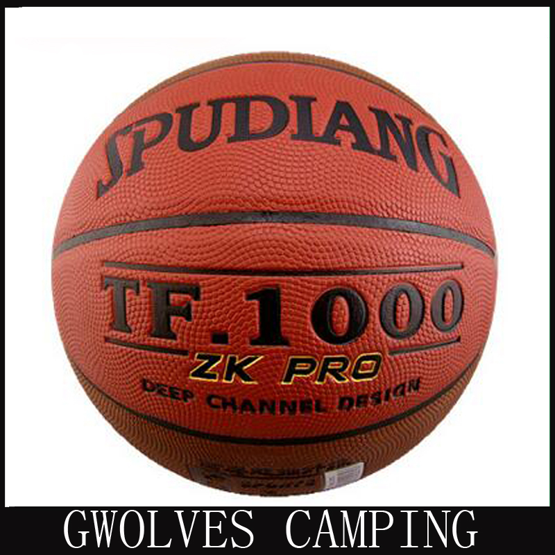 High quality official size 7 indoor/outdoor PU leather basketball for training