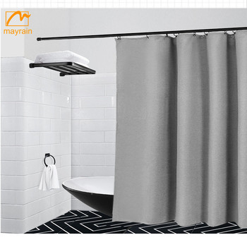 Digital Print Waterproof Mould proof Polyester Shower Curtains 12Rings 72""