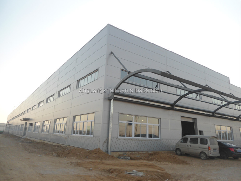 Manufacturer High-rise Fabricated Steel Structure Buildings