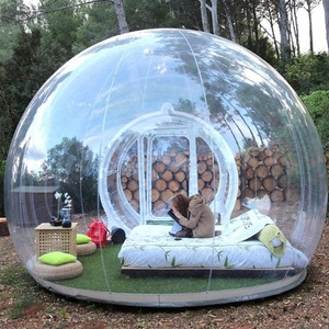 Custom Camping Bubble tent outdoor inflatable Transparent house