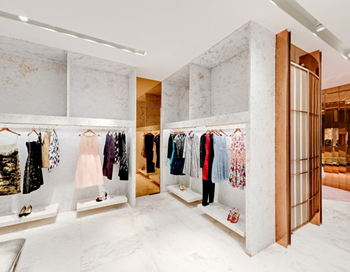 Clothing Retail Shop Display Cabinet Design With Hanging Rack For Clothes  Display