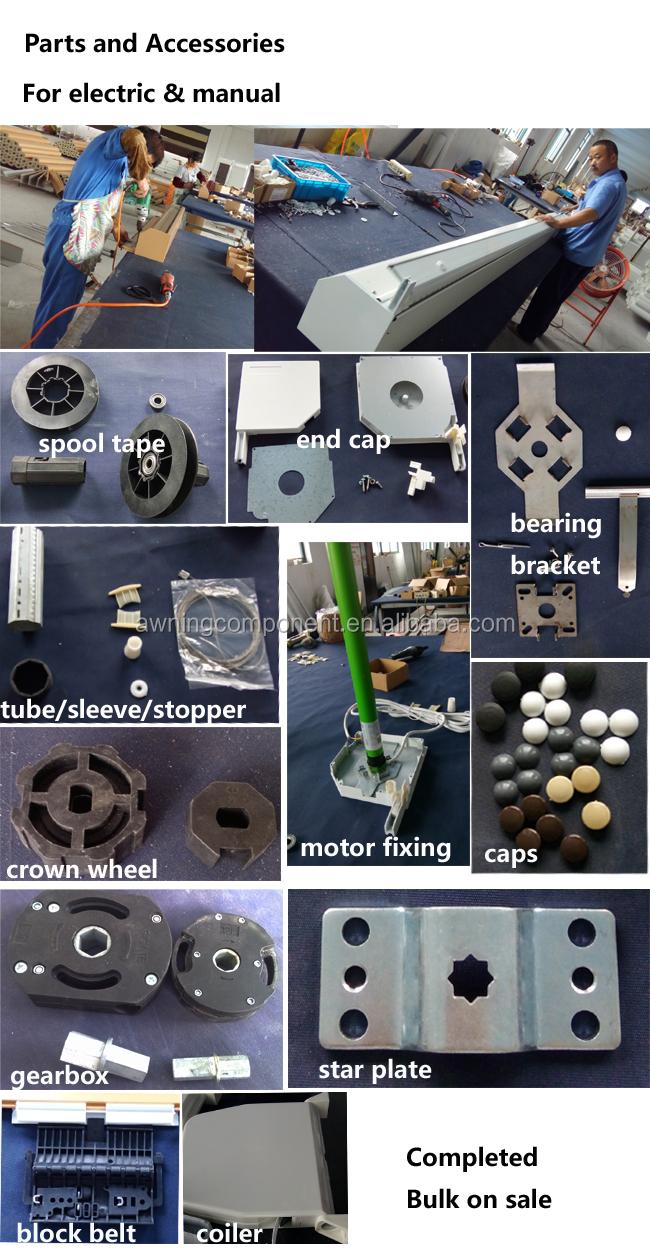 40 80 Axle Tube Roller Shutter Octagonal Tube