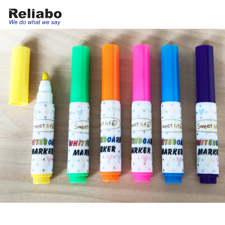 Reliabo High Quality Fashion Design Mini Fabric Permanent Marker Pen For Kids on PU