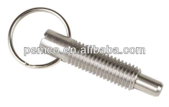 Pull Ring Retractable Locking Plunger SPRN-03