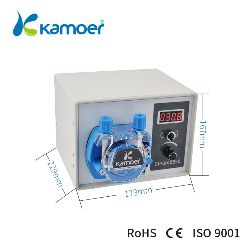 24V,3 Rollers, PharMed Silicone Tube: 1.6mm4.8mm Kamoer DIP Intelligent Peristaltic Metering Pump