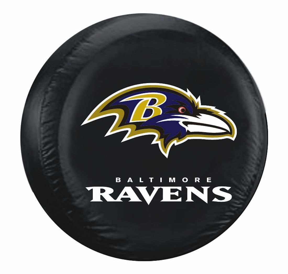Fremont Die Baltimore Ravens Universal Fit Tire Cover