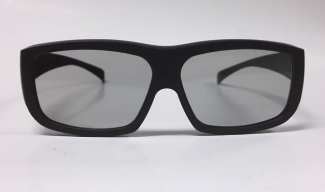 newest big frame linear polarized 3d glasses for Imax 3d glasses