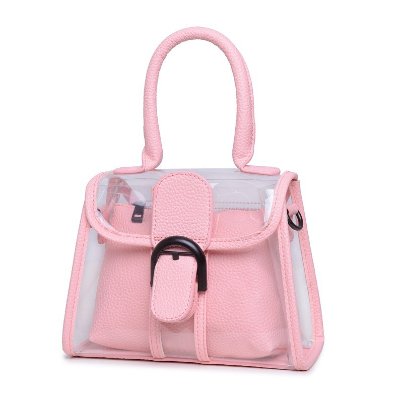 Hot-selling European and American style fashion Transparent jelly bag bag 2015 summer new small bag Shoulder  free shipping