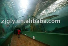 Acrylic glass of tunnel in Oceanarium Project