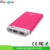 2016 New Design Ultra Slim Polymer Power Bank for Digital Camera 10000mAh
