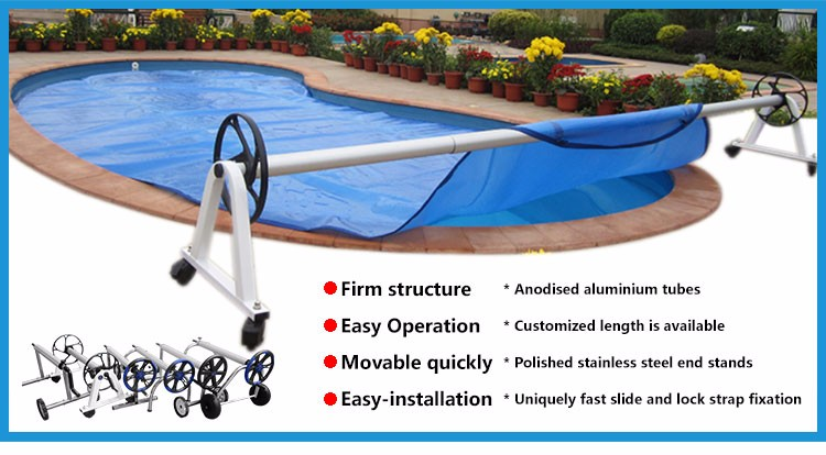 above ground pool and inground pool solar cover reel replacement parts