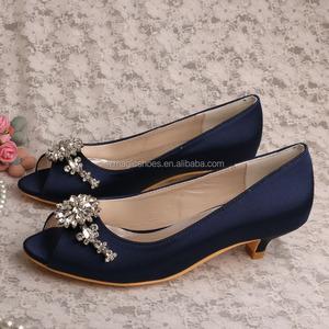 61abbf6a4858 Satin Kitten Heel Shoes
