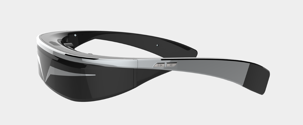 Android 5.1 HD 1080P smart virtual glasses with wide FOV ,screenshot