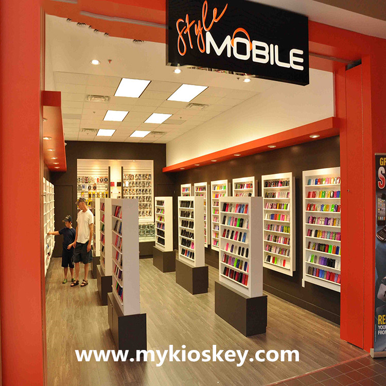 Shop Online Furniture Stores: Modern Mobile Phone Store Interior Design For Cell Phone Store