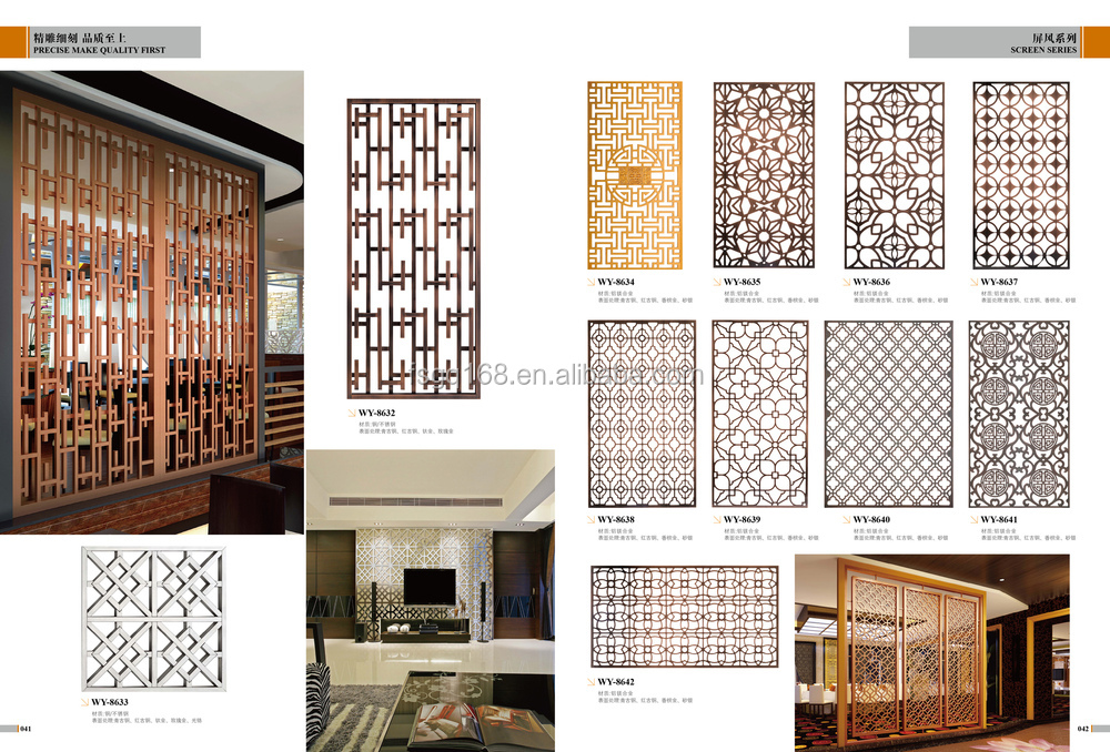 Stainless Steel Home Partition Furniture