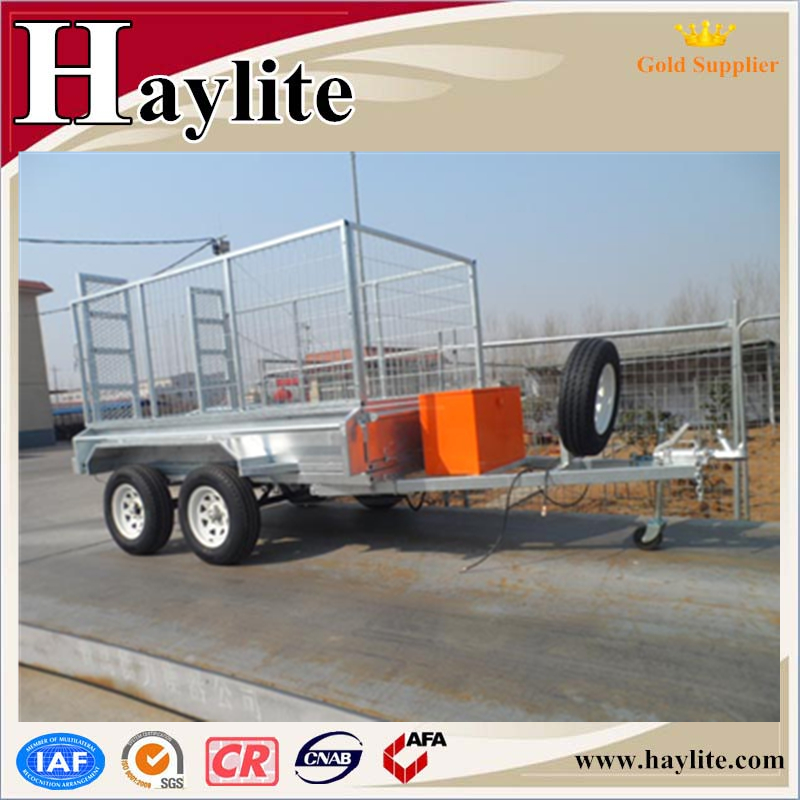 Used hydraulic atv dump semi trailer
