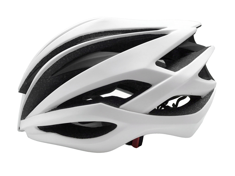 2019 Newly Design Superior In-mold Carbon Fiber Cycling Helmet 7