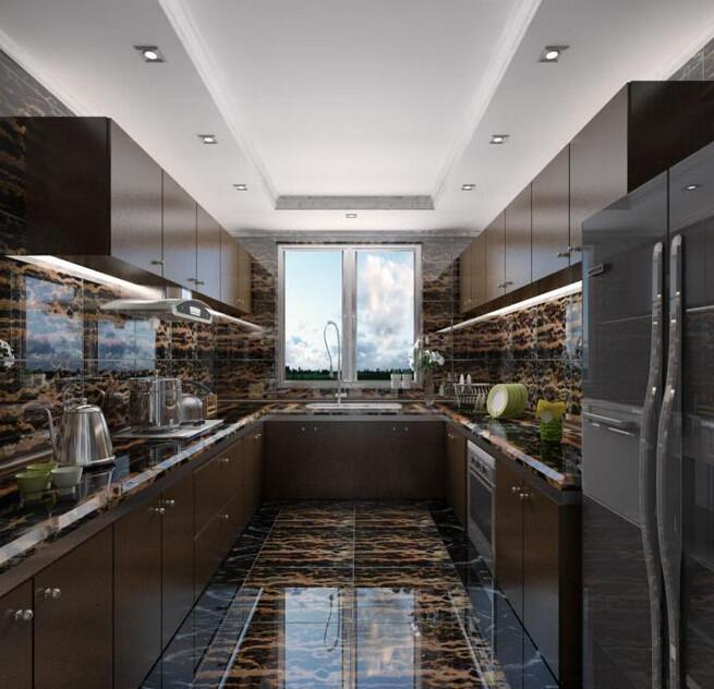 Grade A Black Golden Portoro Marble Door Frame Italy Popular Flooring Border Designs