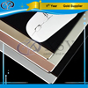 China quality cnc machining silver black gold leather covering aluminum mouse pads