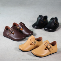 KS10078S Korean simple boys casual genuine leather shoes childrens leather shoes