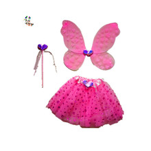 <span class=keywords><strong>Bambini</strong></span> Ragazza Principessa Fancy Dress Ali di Farfalla con la Bacchetta <span class=keywords><strong>Gonna</strong></span> HPC-3409