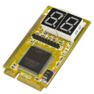 Mini 3 in 1 PCI PCI-E Diagnostic Combo Debug Test Card for LPC Laptop PC Express Card Tester Analyzer