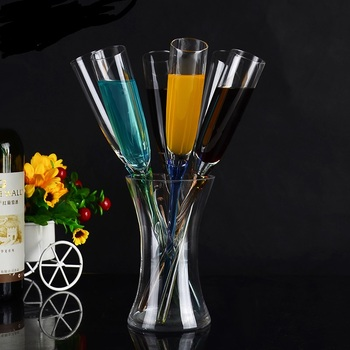Wholesale creative clear cocktail cup glasses for beach