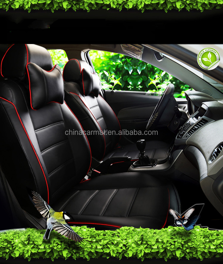 Leder auto kissen sitz fit für Nissan Patrol