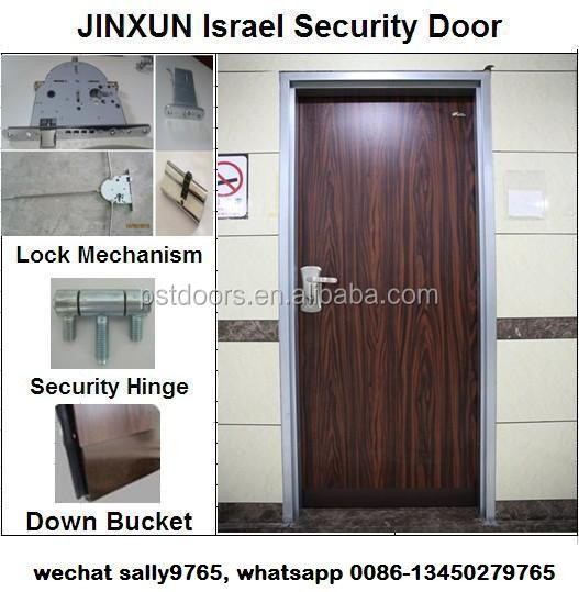 Glass Decorative Israel Security Door