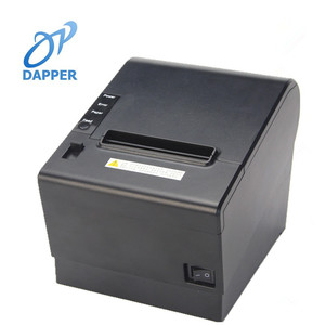 80mm fiscal receipt printer pos terminal thermal ticket printers with USB+wlan