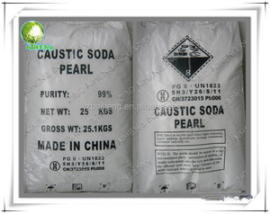 flakes and pearls sodium hydroxide caustic soda