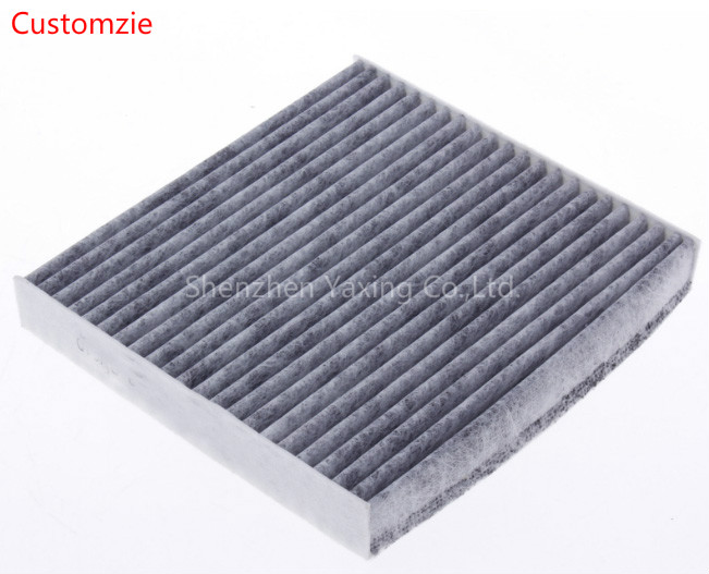 Carbon 0.3 micron air intake filter with high efficiency,Industrial coconut carbon air filter fabric