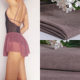 Nylon Spandex 4 way stretch ballet skirt power mesh fabric for ballet dancer