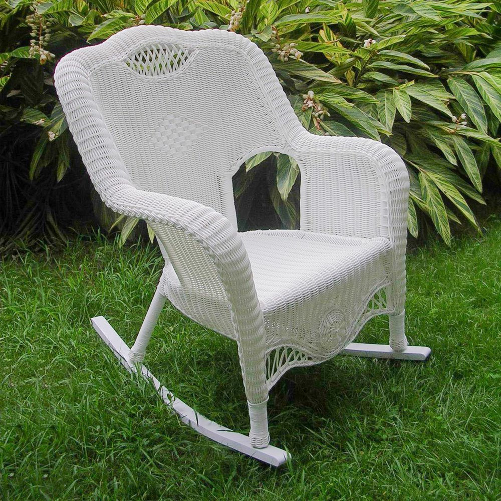 wicker liveauctioneers chair ordway c furniture on pin fancy rocking