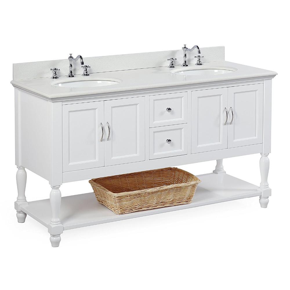 Home Depot Style Triple Double Sink Bathroom Vanity With Quartz Top - Buy  Triple Sink Bathroom Vanity,Home Depot Bathroom Vanity Top,Bathroom Double  ...