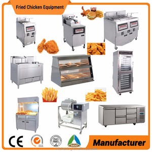 Chicken Pressure Fryer Fried Chicken Equipment Used KFC Equipment fast food restaurant kitchen equipment