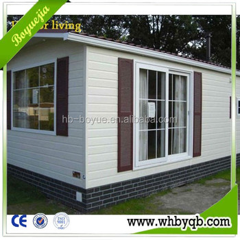 Low Cost Fast Construction EPS Cement Wall Panel Steel Frame Building  Prefabricated Container House