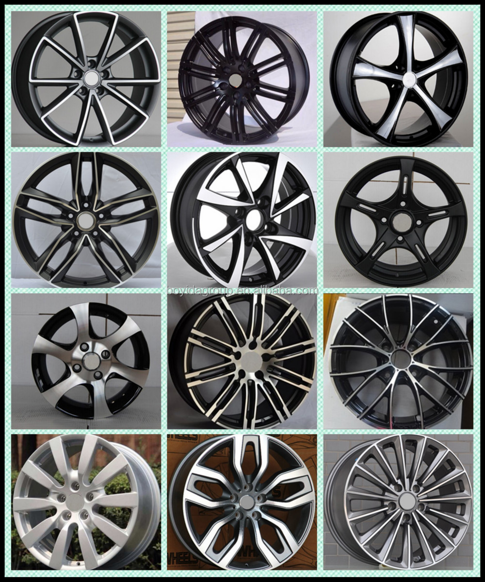 Wholesale Aluminum Alloy Wheel Rim Car Different Color Rims 849