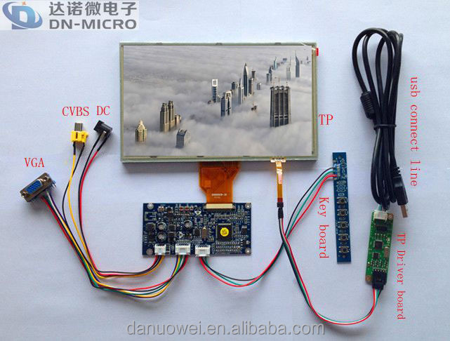 "Top LCD Screen Whole sale 8"" inch tft lcd screen"