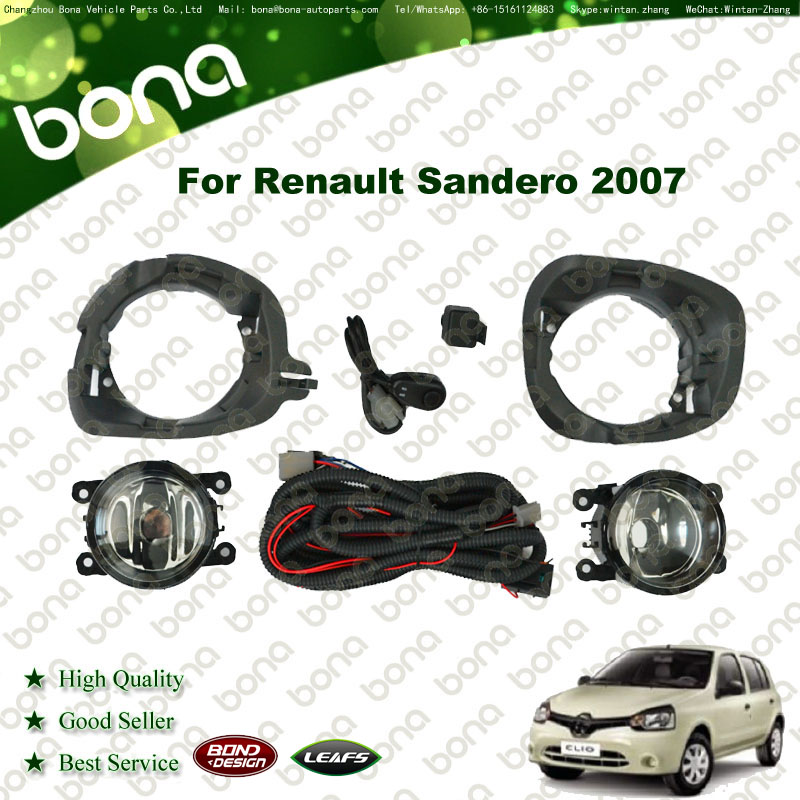 auto lights Fog Lamp Kit For Renault Logan/Sandero 2007 Fog Light